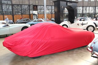 Car-Cover Satin Red für Jaguar E-Type Serie 3