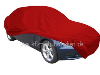 Car-Cover Satin Red für BMW 1er Coupe
