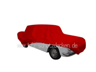 Car-Cover Satin Red für Lancia Fulvia Berlina