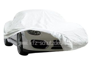 Car-Cover Satin White für Porsche Boxster Spyder