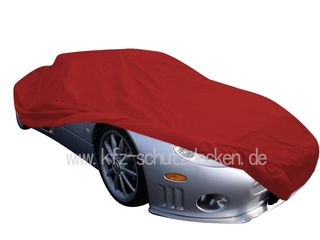 Car-Cover Satin Red für Spyker C8