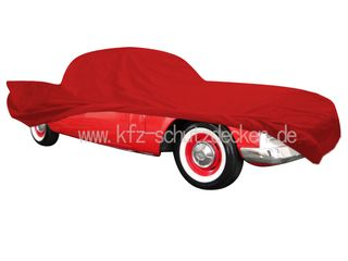 Car-Cover Satin Red für Studebaker Hawk