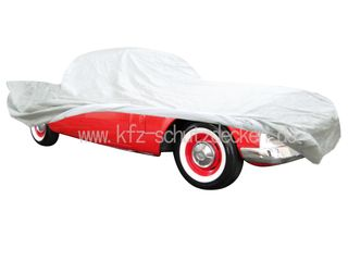Car-Cover Satin White für Studebaker Hawk