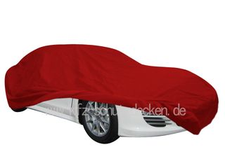 Car-Cover Satin Red für Porsche Panamera