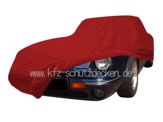 Car-Cover Satin Red für TVR V8S