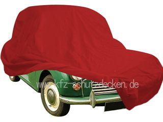 Car-Cover Satin Red für Morris Minor