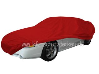 Car-Cover Satin Red für Mustang von 1994-2004