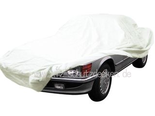 Car-Cover Satin White für Mercedes SLC Coupe W107