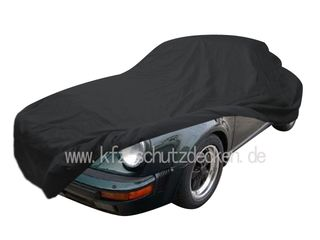 Car-Cover Satin Black für Porsche 911 Speedster