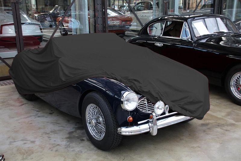 Car Cover Satin Black Fur Austin Healey 3000