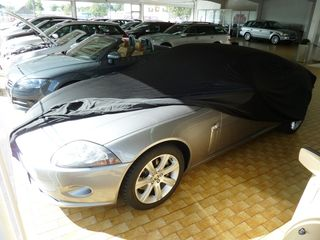 Car-Cover Satin Black for Jaguar XK8