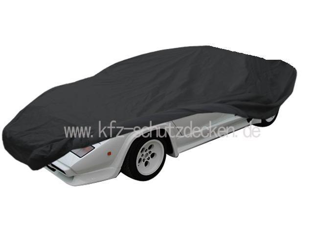 Car Cover Satin Black For Lamborghini Countach