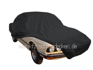 Car-Cover Satin Black with mirror pockets for BMW 5er...