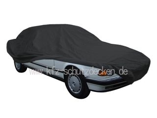 Car-Cover Satin Black with mirror pockets for BMW 7er...