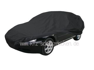 Car-Cover Satin Black with mirror pockets for Audi A3