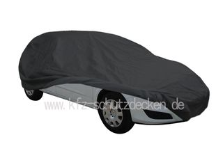 Car-Cover Satin Black with mirror pockets for Opel Astra...