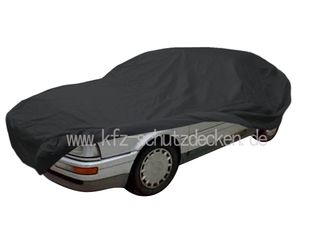 Car-Cover Satin Black with mirror pockets for Audi Coupé B3