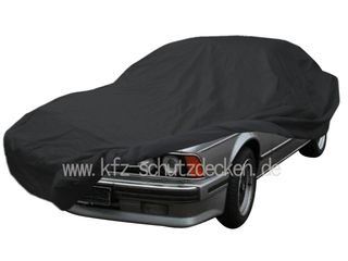 Car-Cover Satin Black with mirror pockets for BMW...