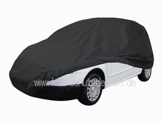 Car-Cover Satin Black with mirror pockets for Citroen C2