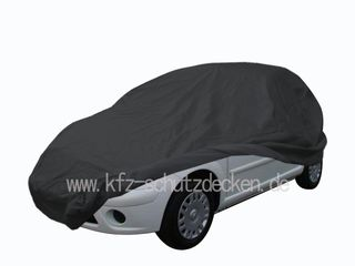 Car-Cover Satin Black with mirror pockets for Citroen C3