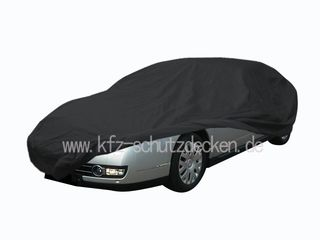 Car-Cover Satin Black with mirror pockets for Citroen C6