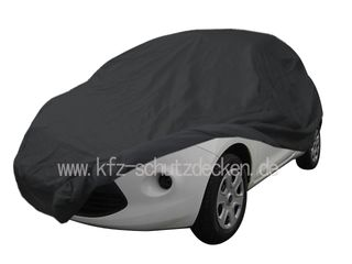 Car-Cover Satin Black with mirror pockets for Ka