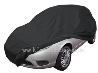 Car-Cover Satin Black with mirror pockets for Lancia Y