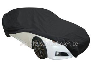 Car-Cover Satin Black with mirror pockets for Lexus ISF
