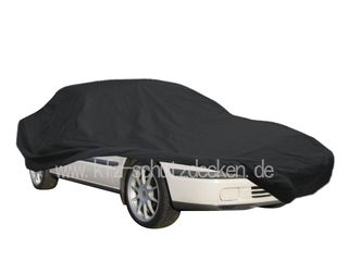 Car-Cover Satin Black with mirror pockets for Mazda 626
