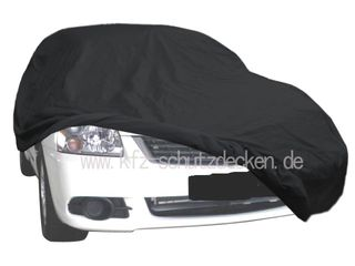 Car-Cover Satin Black with mirror pockets for Mitsubishi...