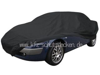 Car-Cover Satin Black with mirror pockets for Renault...