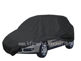 Car-Cover Satin Black with mirror pockets for Skoda Fabia