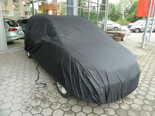 Car-Cover Satin Black with mirror pockets for Subaru Tribeca