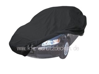 Car-Cover Satin Black with mirror pockets for Volvo S 40