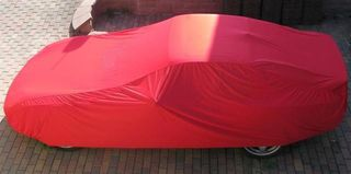 Car-Cover Samt Red for Porsche 944 /968