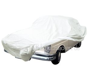 Car-Cover Satin White für Mercedes Heckflosse W112