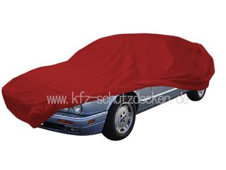 Car-Cover Satin Red für Jaguar XJ 300