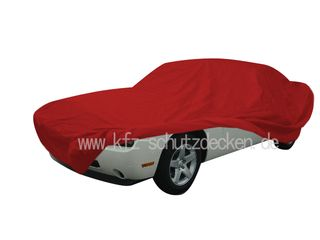 Car-Cover Satin Red für Dodge Challenger LC ab 2008