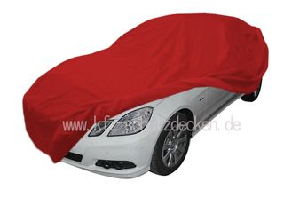 Car-Cover Samt Red with Mirror Bags for Mercedes CLK (207)