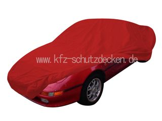 Car-Cover Samt Red with Mirror Bags for Toyota MR 2 W20