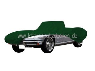 Car-Cover Satin Grün für Chevrolet Corvette C2