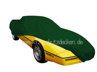 Car-Cover Satin Grün für Chevrolet Corvette C4