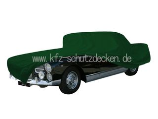 Car-Cover Satin Grün für Facel Vega  HK 500