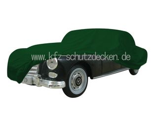Car-Cover Satin Grün für Mercedes 300D (W189)