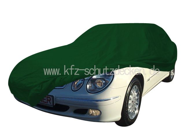 Car cover satin green for mercedes e klasse w211 for Mercedes benz e350 car cover