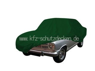 Car-Cover Satin Grün für Opel Kadett B-Coupe