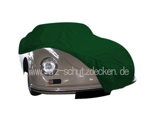 Car-Cover Satin Grün für Porsche 356 Speedster