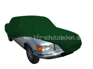 Car-Cover Satin Grün für Mercedes S-Klasse W116