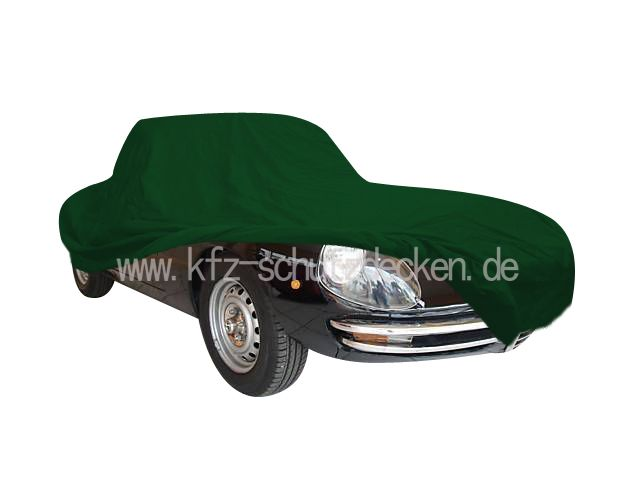 CarCover Satin Green For Alfa Romeo Spider Bj - Alfa romeo spider car cover
