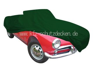 Car-Cover Satin Green for Alfa Romeo Giulietta Spider